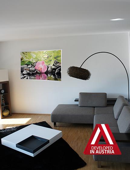 Картина за отопление в хола