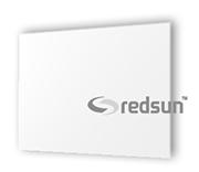 Инфрачервен уред за отопление с бяло стъкло