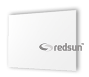 Infrared heating panel with white glass 600 watts